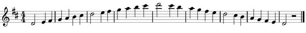 Tonleiter üben Klarinette